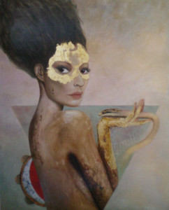 Terramadre - olio su tela (100 x 125 cm)