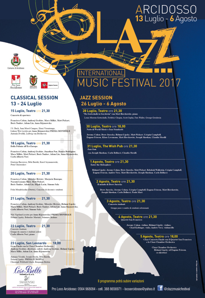 Clazz Music Festival 2017