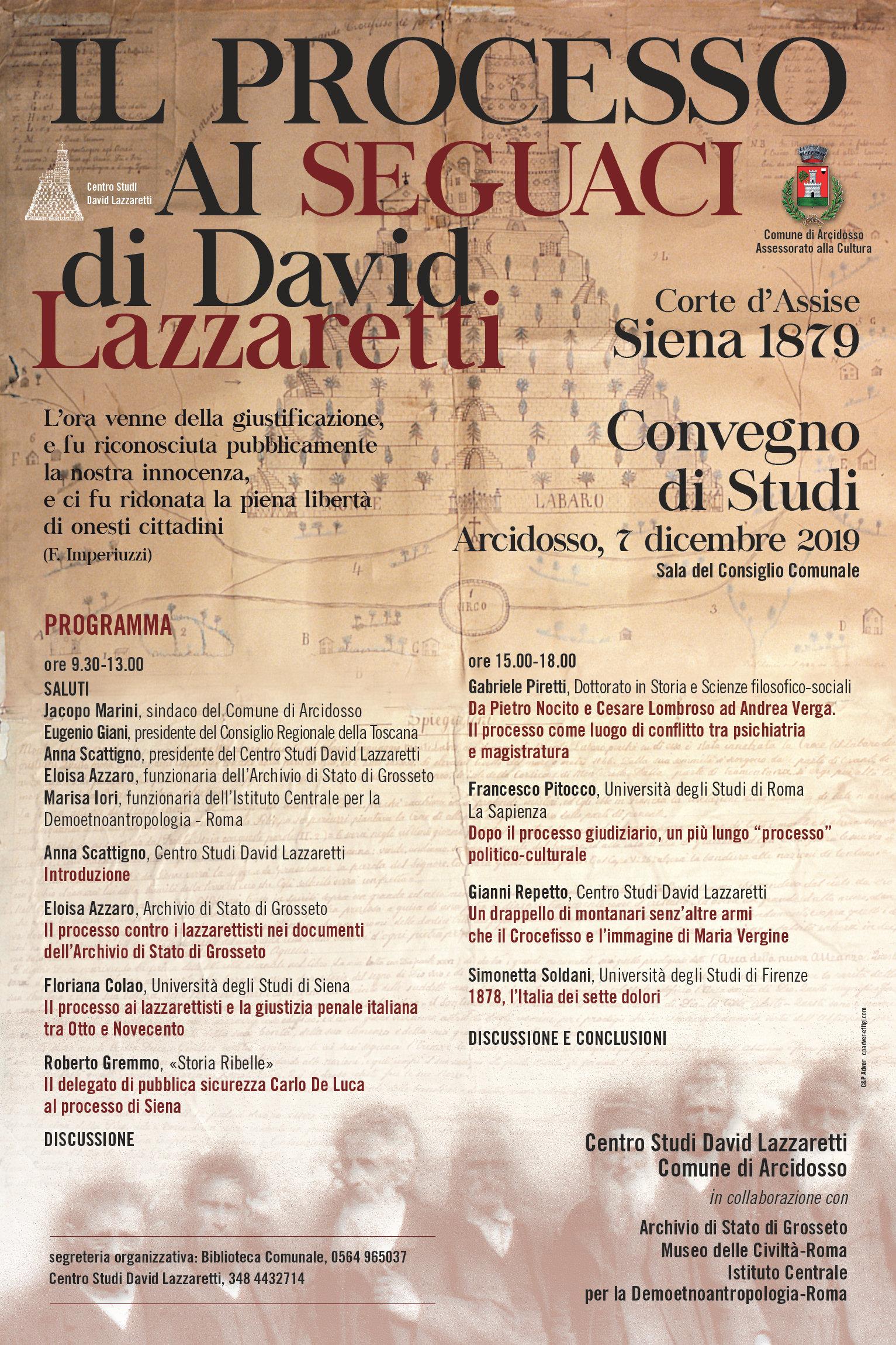 il-processo-ai-seguaci-di-david-lazzaretti-locandina
